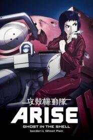 攻殻機動隊ARISE border: 1 Ghost Pain Online Lektor PL FULL HD